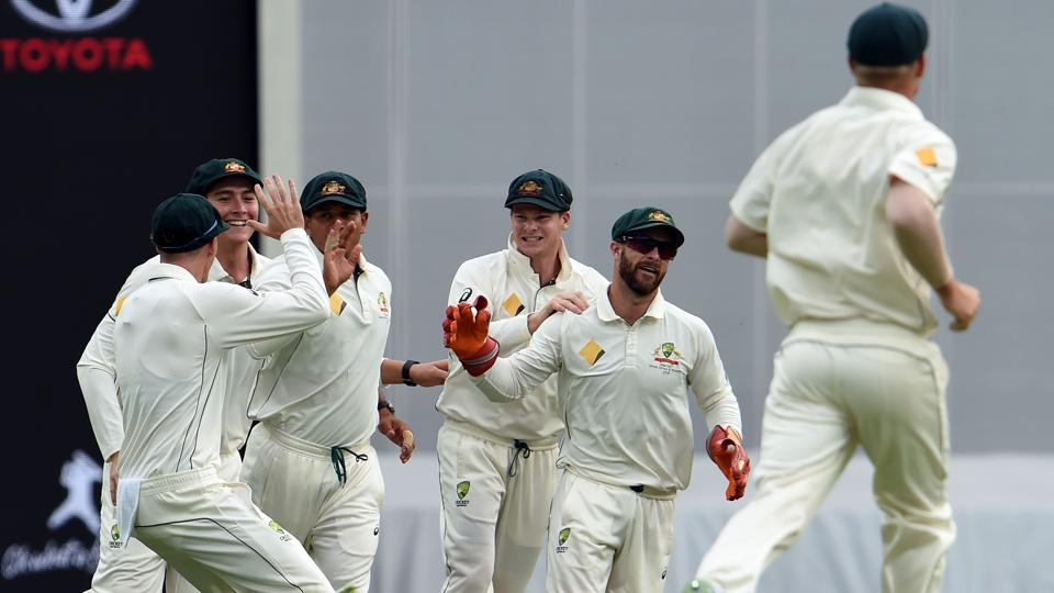 Mitchell Starc struck early to remove Azhar Ali as Australia continued to dominate Pakistan in the Brisbane Test.