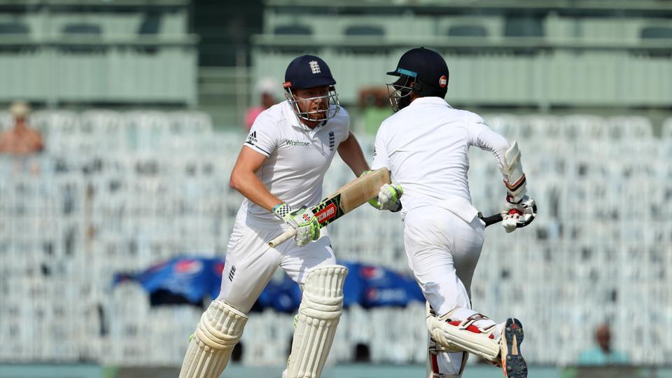Jonny Bairstow  gave Moeen Ali good company as England continued to push forward. (BCCI)