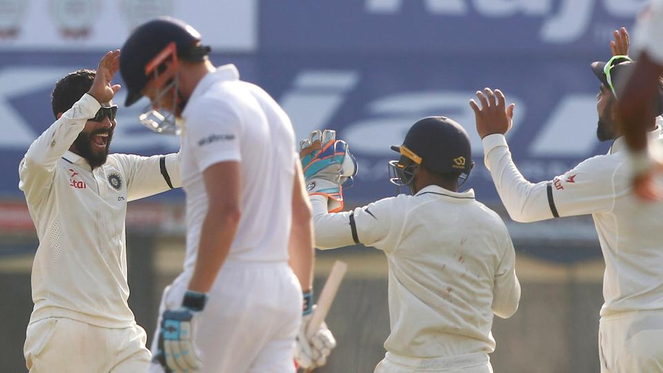 Ravindra Jadeja got his third wicket as he got the key wicket of Bairstow for 49. (Photo by: BCCI)