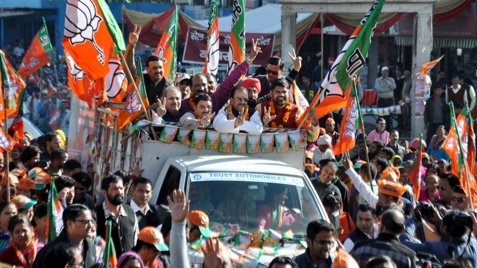 Much-publicised Parivartan Yatra covered over 5,000 km and touched all 70 assembly constituencies.