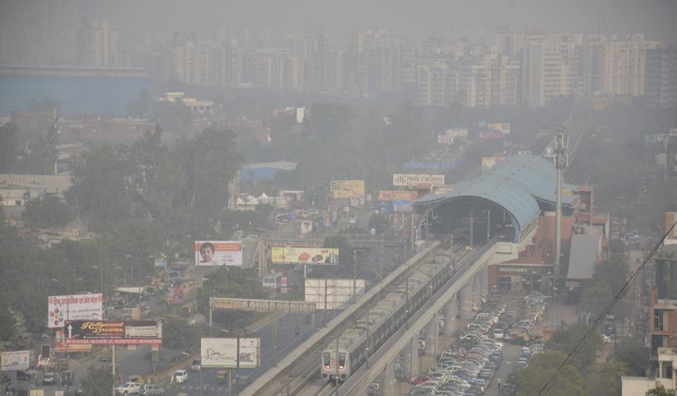 Ghaziabad,kaushambi,pollution