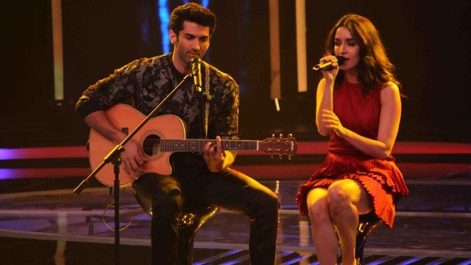 If media reports are to be believed then Aditya and Shraddha are again getting closer now. (IANS)