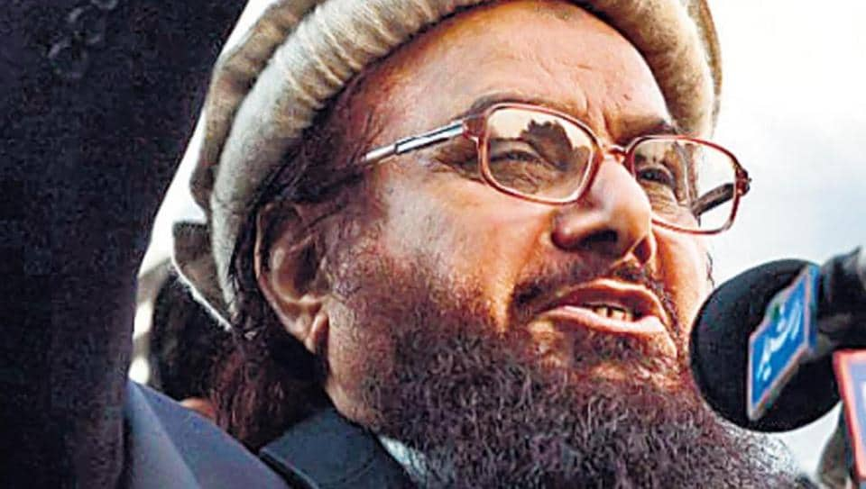 """JuD chief Hafiz Saeed said, """"We consider Rajnath's statement as declaration of war and accept the challenge. We don't accept ceasefire line as Line of Control."""