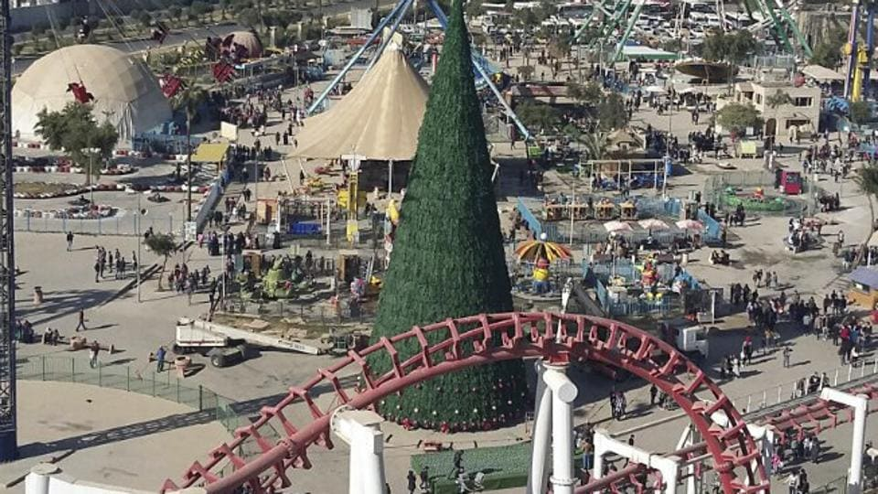 Iraqi businessman,Christmas tree,Baghdad