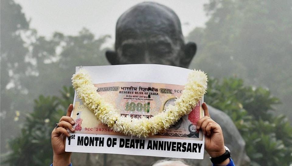 Demonetisation,NDA,BJP