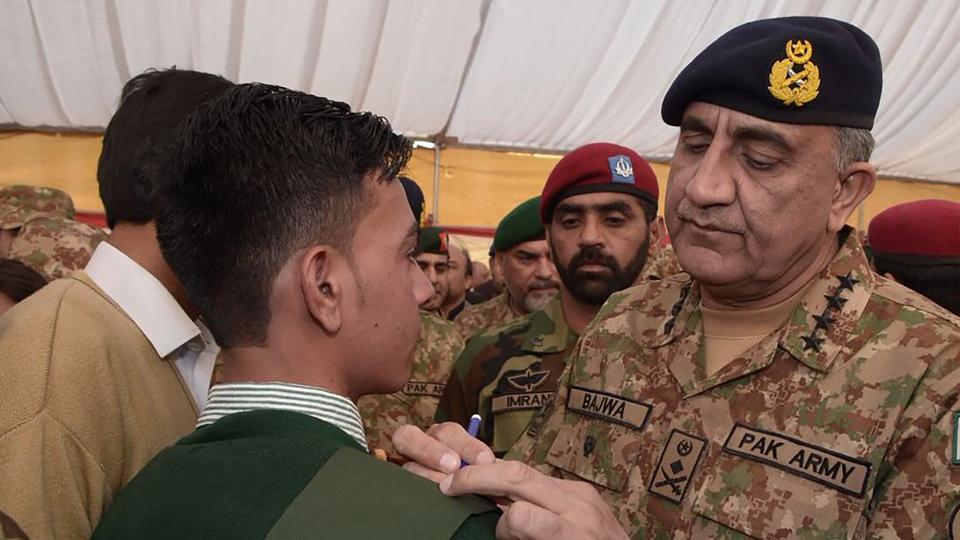 Pakistan Army chief,Qamar Javed Bajwa,Taliban militants
