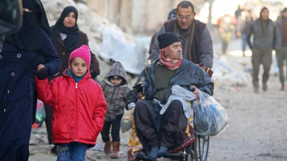 Aleppo,UN envoy for Syria,Evacauation deal for Aleppo