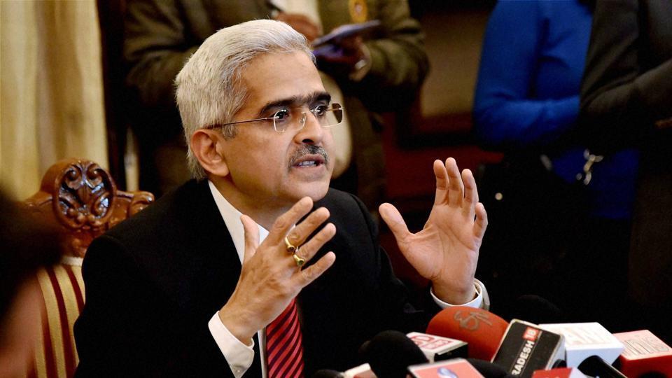 Economic affairs secretary Shaktikanta Das addresses a press conference in New Delhi on December 15, 2016.