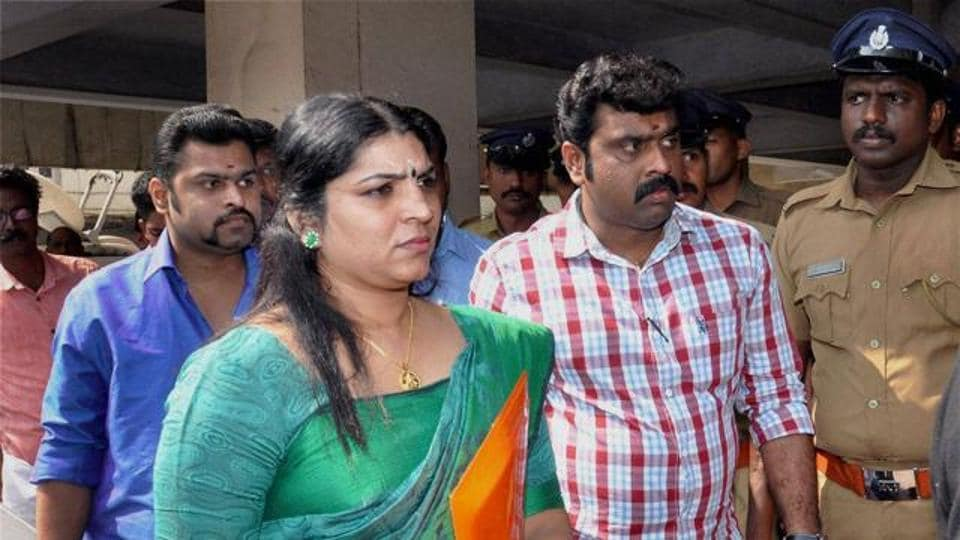 Saritha S Nair recieved a three year jail sentence.