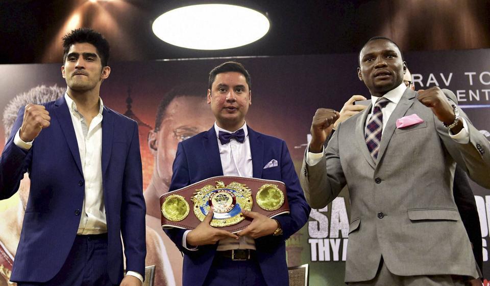 Vijender Singh,Francis Cheka,Pro Boxing