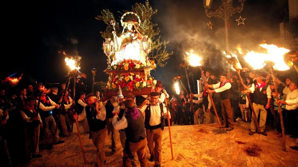 Do you know about Divina Pastora procession? Or St. Lucia's Day? Or Virgin of Los Rondeles? No? Come with us to the southern Spanish village of Casarabonela and see for yourself.  (Reuters)