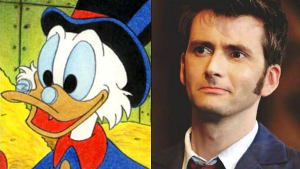 The biggest surprise, of course, is David Tennant getting the role of Scrooge McDuck.