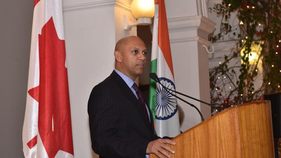 File photo of Canada's high commissioner to India, Nadir Patel.