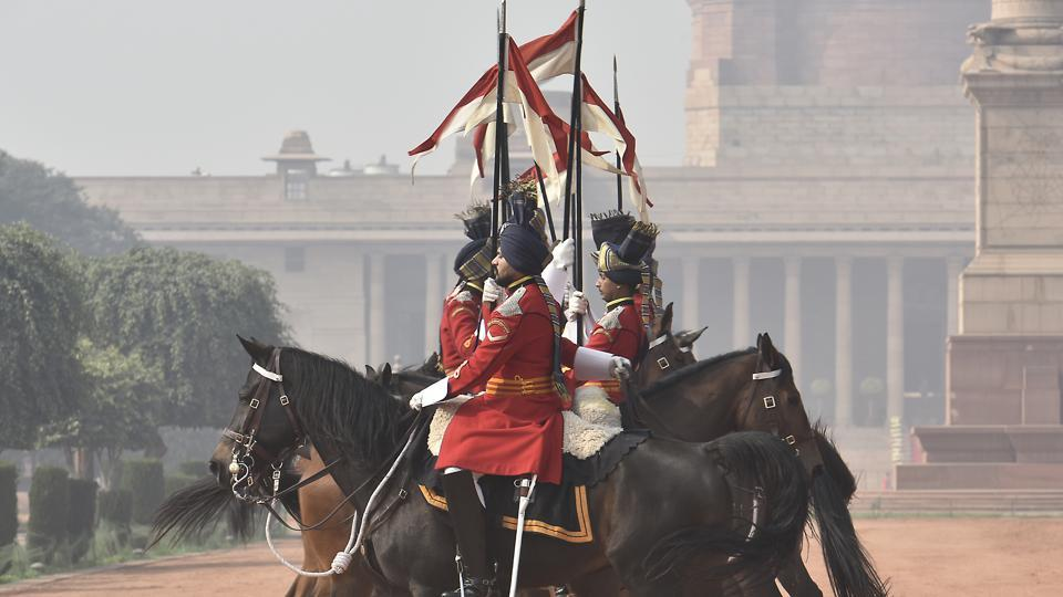 The President's Bodyguard's officers and men are excellent horsemen, capable tank men and paratroopers.  (Raj K Raj/HT PHOTO)