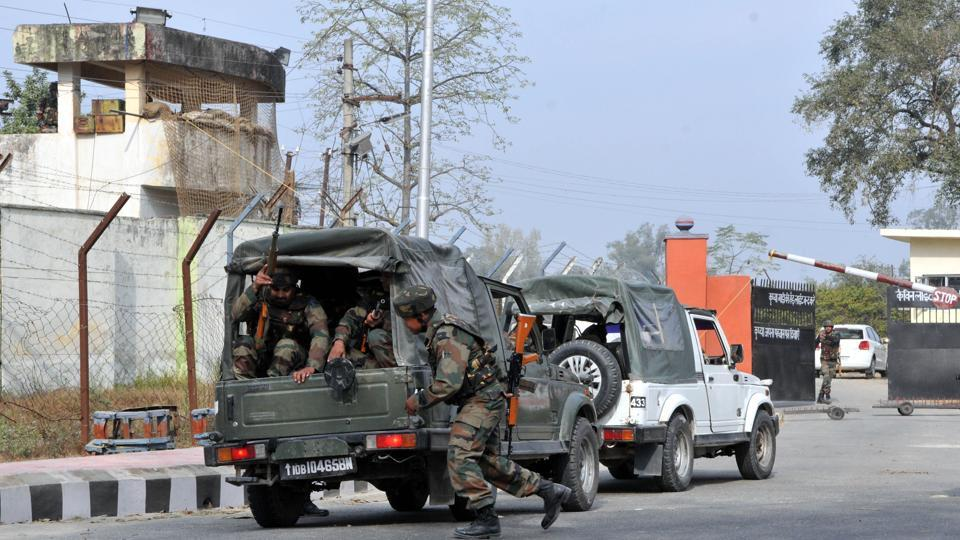 Army sources reveal that the three heavily armed militants used anti-tank rifle grenades to target armoured plated vehicles of the force and CRPF on the fateful day.