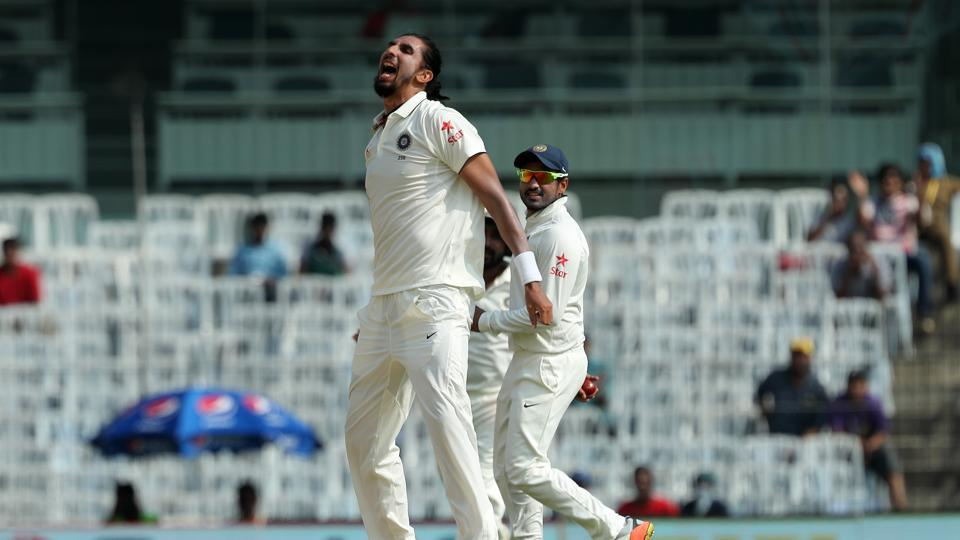 Ishant Sharma joined in and got the key wicket of Jos Buttler for 5 as India built on their good start. (BCCI)