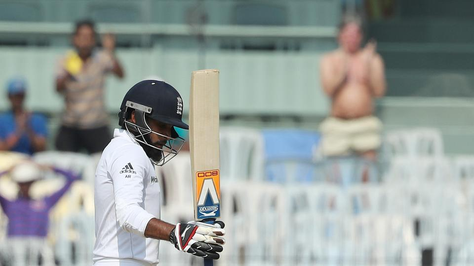 Adil Rashid notched up his second fifty as England crossed 400. (BCCI)