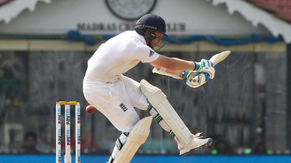 Liam Dawson continued to battle on as England reached 450. (BCCI)