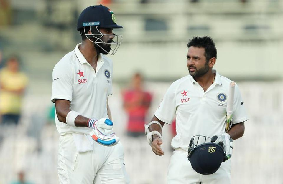 The unbeaten opening stand between KL Rahul and Parthiv Patel of India made sure the final session went well for the hosts on day two of the 5th test match between India and England held at the MA Chidambaram Stadium, Chennai.