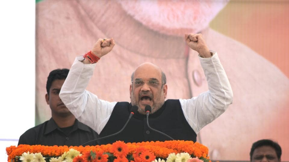 Amit Shah,Black money,UP Polls