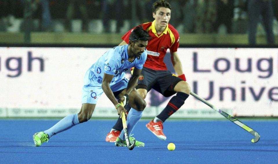 Indian hockey team will face Belgium in the final of Hockey Junior World Cup on Sunday.