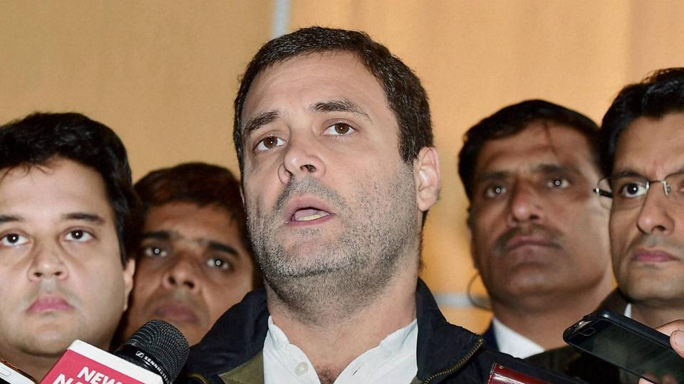 Congress vice president Rahul Gandhi said on Saturday Prime Minister Narendra Modi was constantly shifting the goalpost over demonetisation's real objective.
