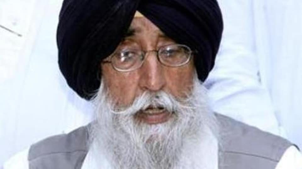 Shiromani Akali Dal (Amritsar) chief Simranjit Singh Mann.