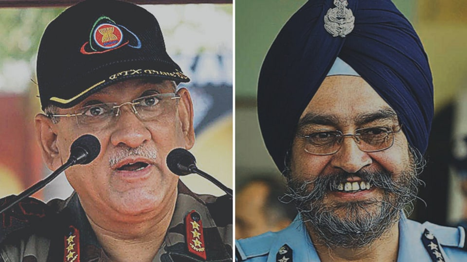 Lt Gen Bipin Rawat,Spy agency chiefs,New army chief