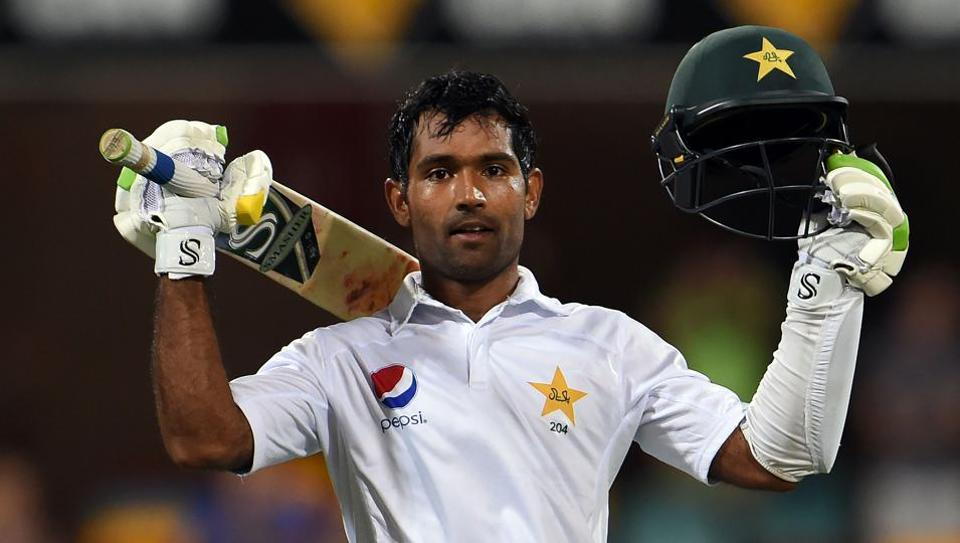 Pakistan's batsman Asad Shafiq reached his 10th Test century off 140 balls in the day-night match at the Gabba against Australia on Sunday.