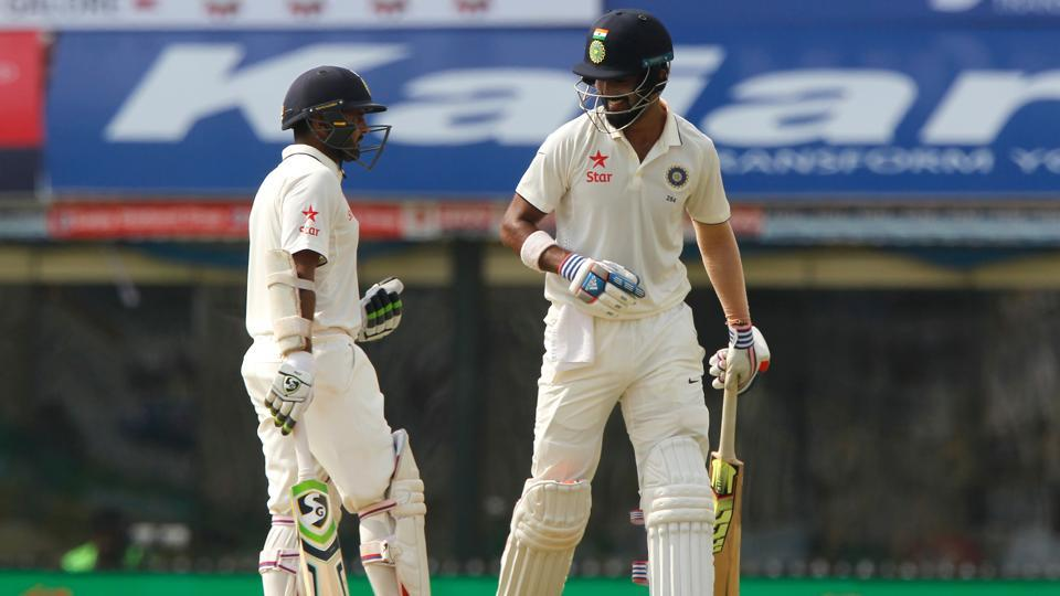 India started day 3 on a positive note with both Parthiv Patel and KL Rahul looking in great touch. (BCCI)