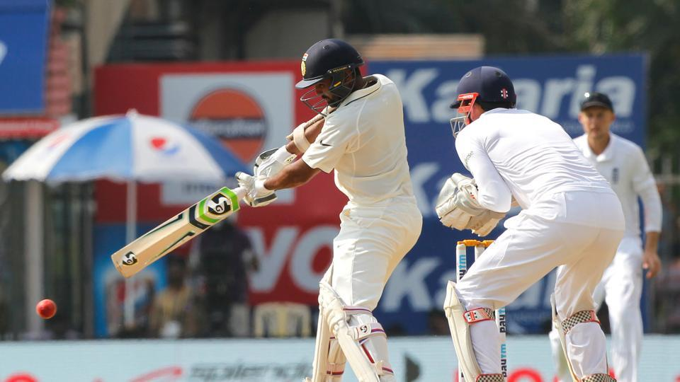 Parthiv Patel of India notched up his highest individual score in Tests as India dominated (BCCI)