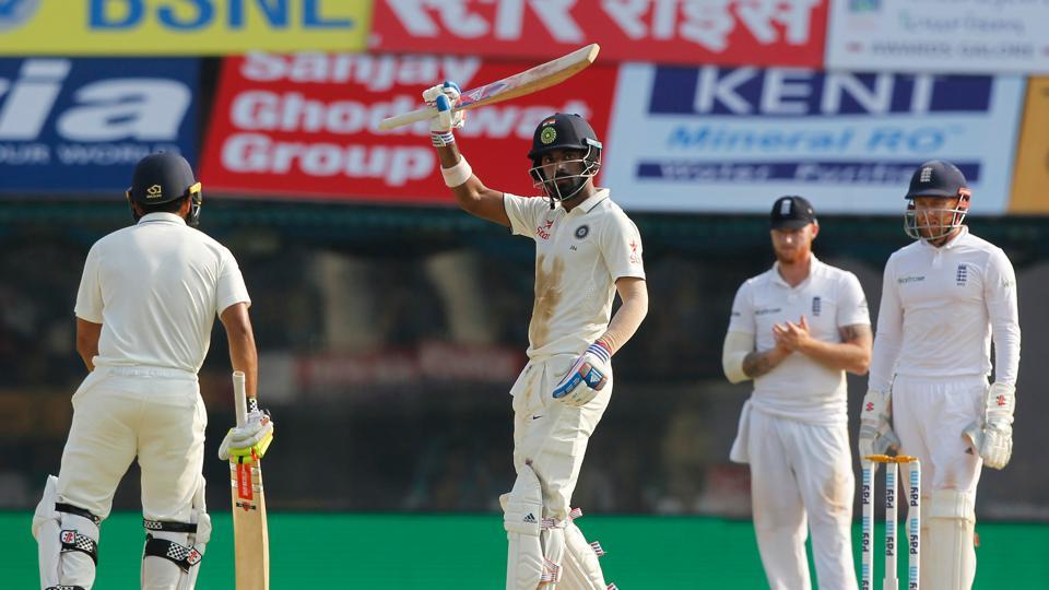KL Rahul continued to blunt the English attack and he went past his highest individual score of 158. (BCCI)