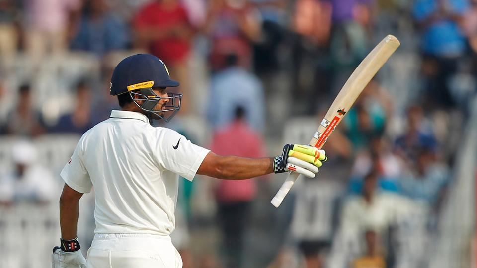 Karun Nair also capitalised with a fine maiden fifty as he strung a 161-run stand for the fourth wicket. (BCCI)