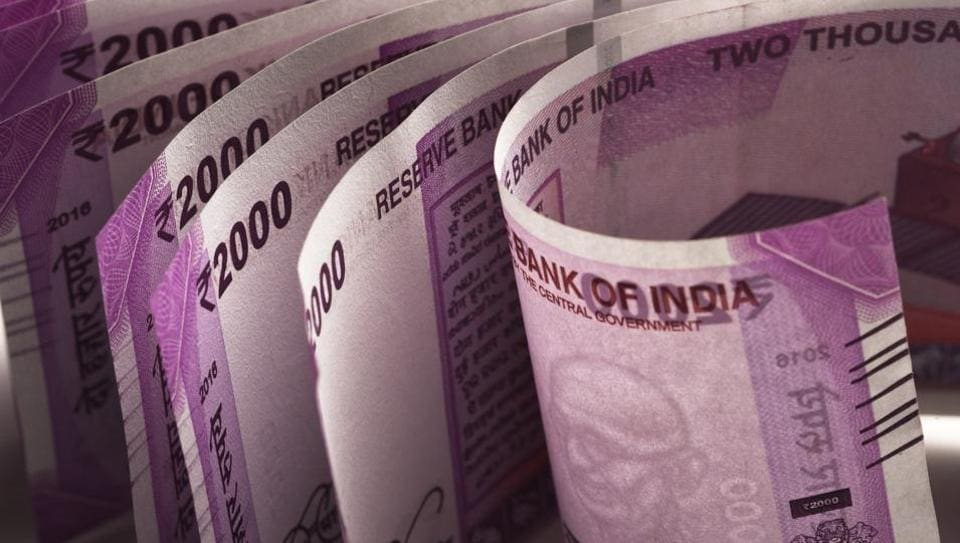 Three men were arrested after Rs 18 lakh in new currency notes was seized from Sector 57 in Noida.