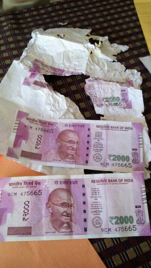 fake Rs 2000 notes seized in Shahdol.