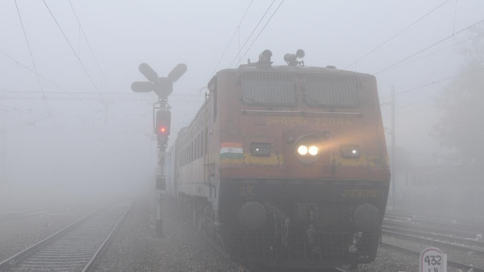 Fog,Delhi,Delhi trains