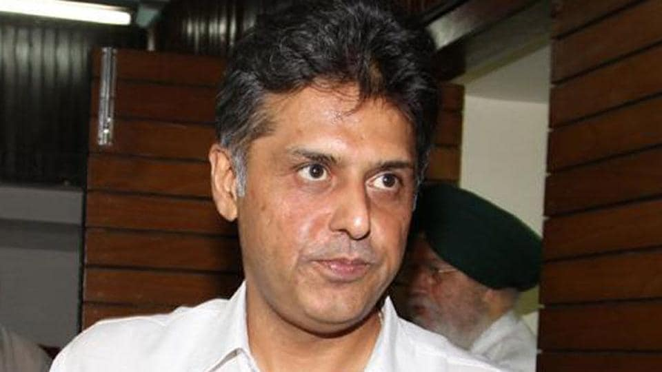 Senior Congress leader Manish Tewari