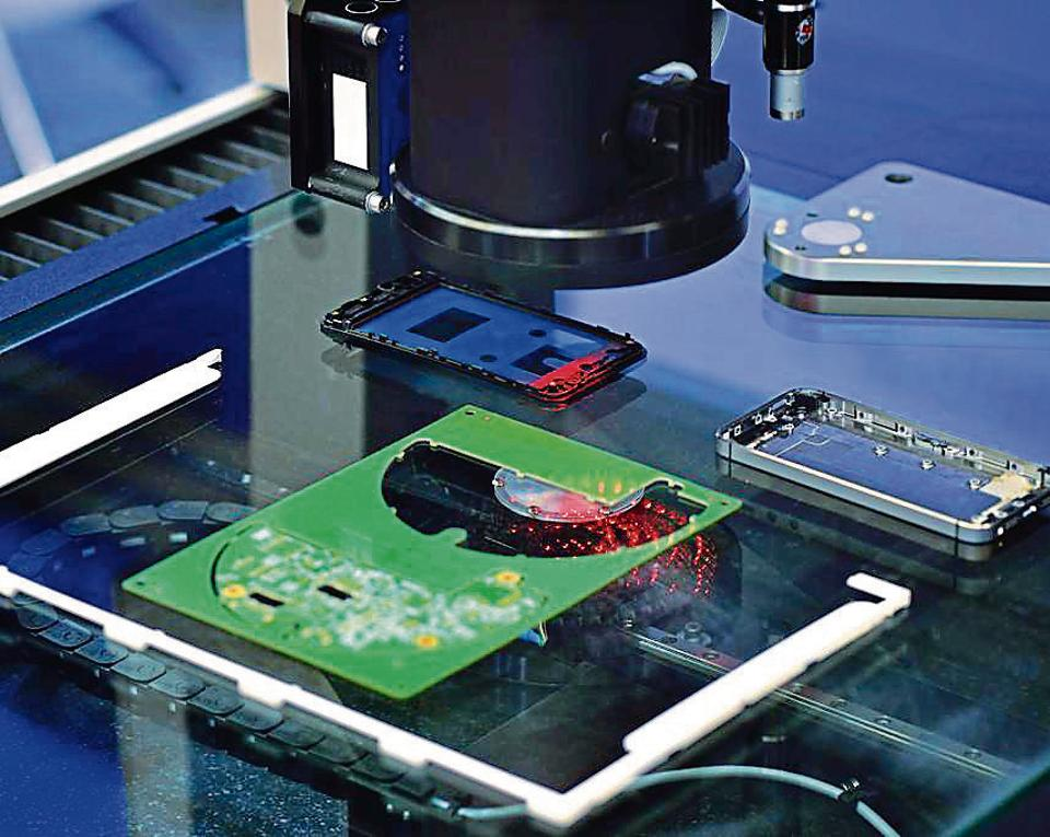 At a time when the government is looking to push digital payments, the production of mobile phones in India is down by at least 40%.