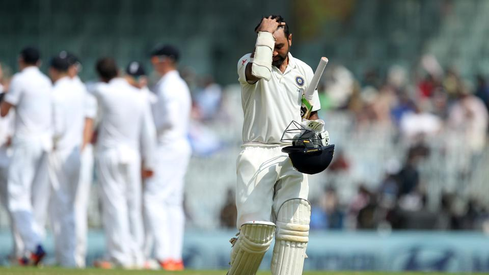 However, just before the lunch break, Patel was dismissed for 71 as England broke through. (BCCI)