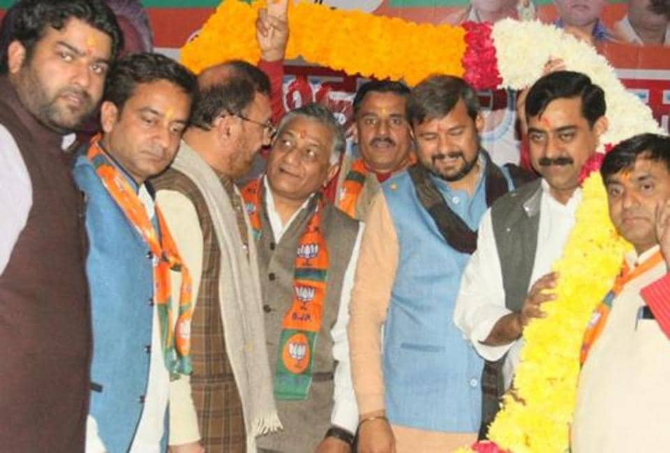 BJP held a conference for the backward castes at ITS College in Mohan Nagar on Sunday.