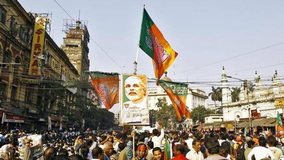 Banners, posters, stickers, flags, masks of leaders, caps, t-shirts and other paraphernalia associated with the campaigning are generally in great demand during elections