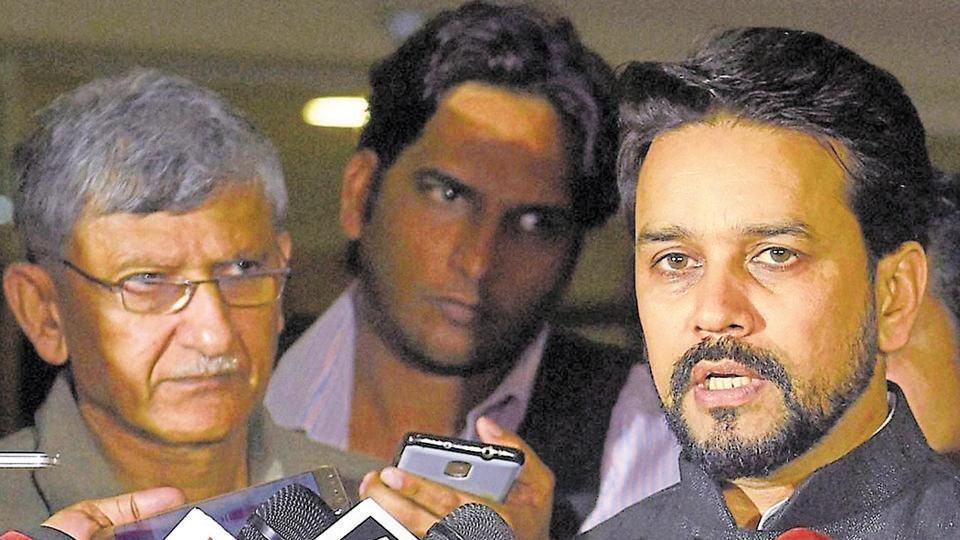 BCCI pesident Anurag Thakur has been charged with perjury by the Supreme Court.  The top court is mulling to appoint a panel of administrators ti run the BCCI and implement the Lodha panel reforms.