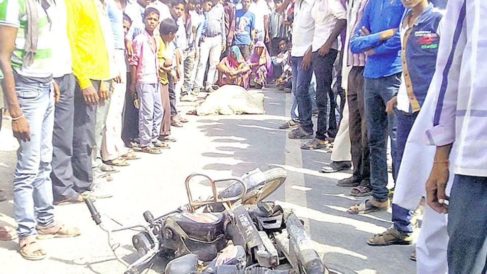 Tension gripped Bhilwara after two groups pelted stones and set vehicles on fire.