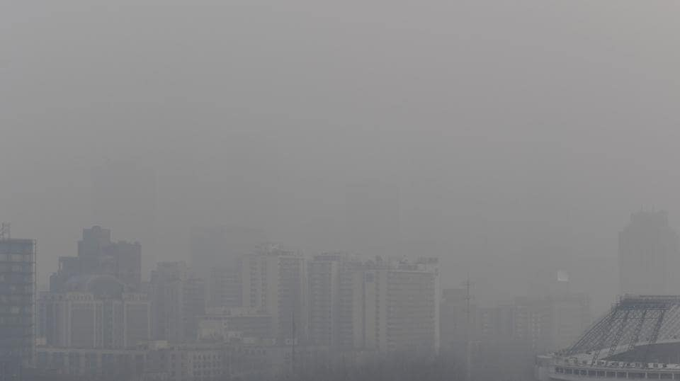 Red alert,China smog,Pollution