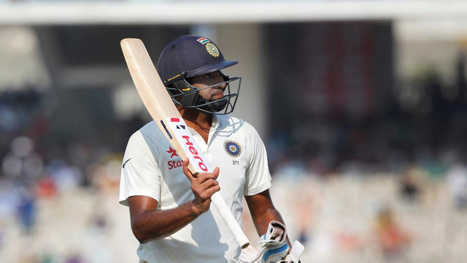 Ravichandran Ashwin shared a 181-run stand with Karun Nair for the sixth wicket as India built on a huge advantage. (BCCI)
