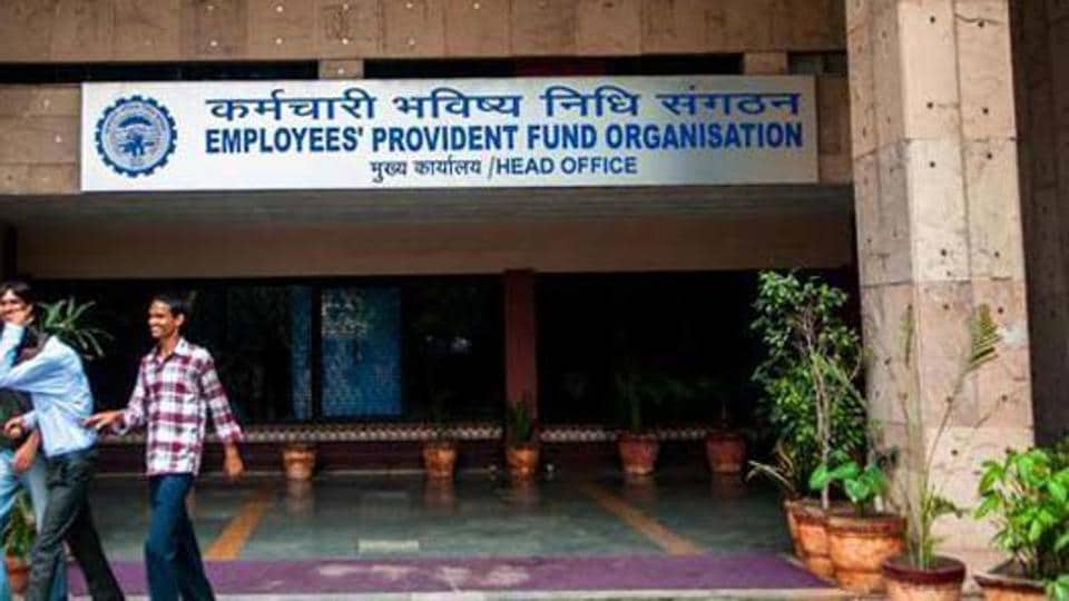 Employees' Provident Fund Organisation lowered the interest rate on deposits to 8.65%