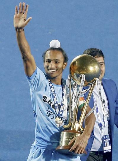 Harjeet Singh and Co's win was also the first time that a host nation had won the tournament since its inception. (PTI)