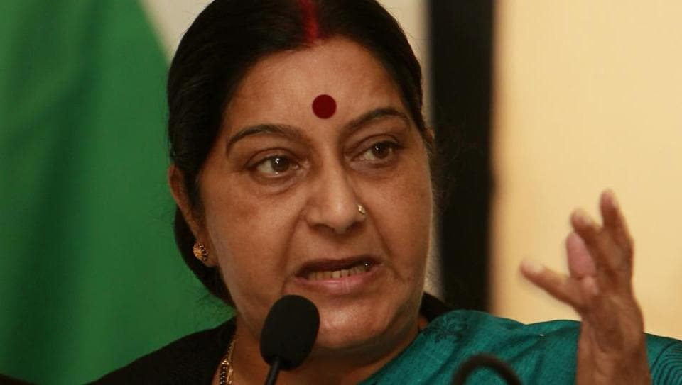 Sushma Swaraj was admitted to AIIMS hospital in New Delhi after suffering from a kidney failure.
