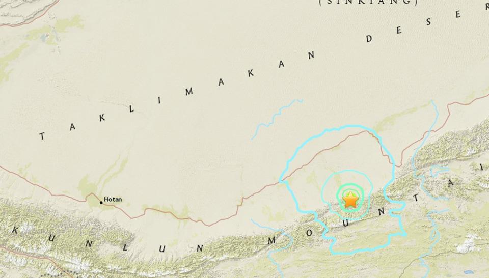 Earthquake,China,Xinjiang province