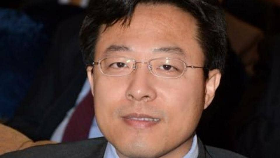 File photo of Zhao Lijian, chargé d'affaires at the Chinese embassy in Islamabad, who is known for defending the China-Pakistan Economic Corridor on Twitter.
